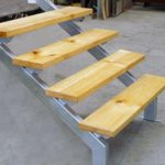 Bits of Steel Supplies - Stair Stringers with Wooden Steps